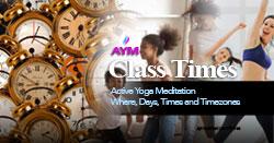 AYM Class Times